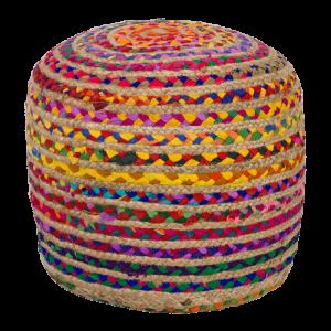 dwbh pouffe coloured