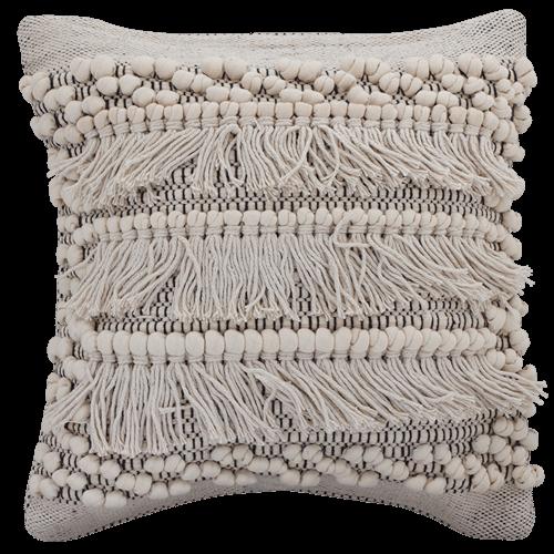 Boho Fringe Cushion