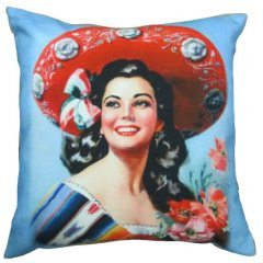 Mexican Girl Cushion