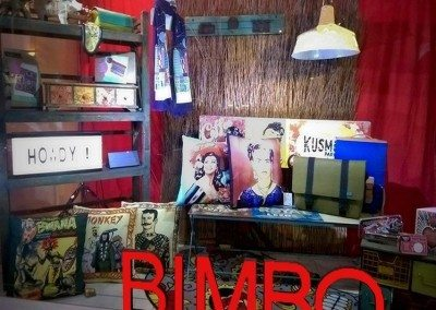 Bimbo is famous in Adelaide as the gift shop  with quirky window displays and cool gifts.