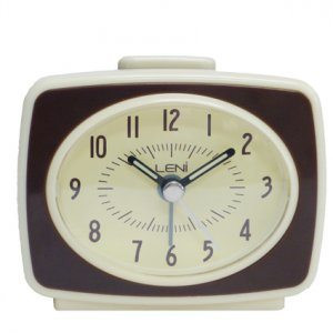 mini retro alarm clock available from bimbo online store. Black Bedroom Furniture Sets. Home Design Ideas