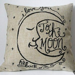 cushion to the moon