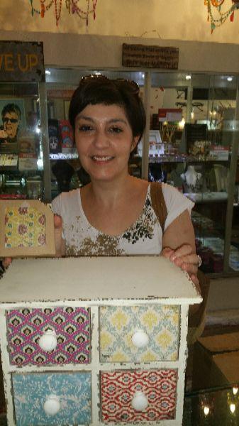 Another happy Bimbo homewares gift customer
