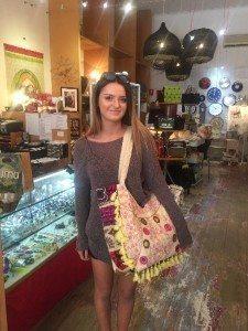 Another happy Bimbo handbag gift customer