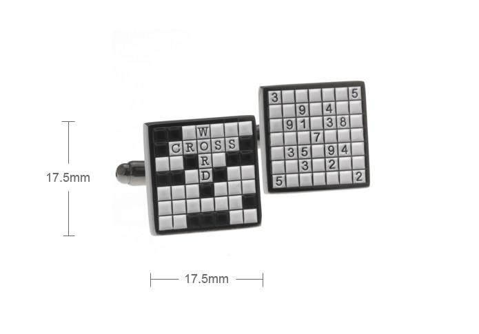 Novelty Lamp Crossword Clue : Crossword Puzzle Cufflinks - locally from BIMBO ONLINE