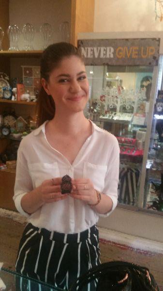 Another happy Bimbo bacelet gift customer
