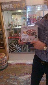 Another happy Bimbo novelty book gift customer