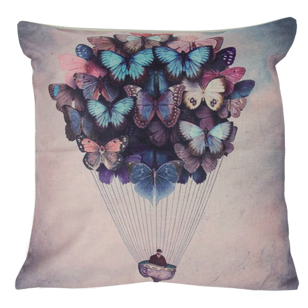Hot Air Balloon Cushion