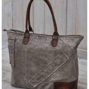 Recycled Handmade Bag - Saint Martin