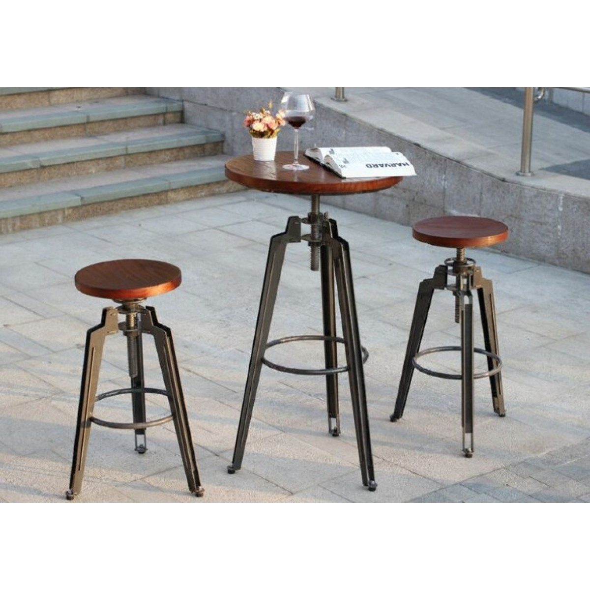 cafe table and stools adelaide adjustable height bimbo online