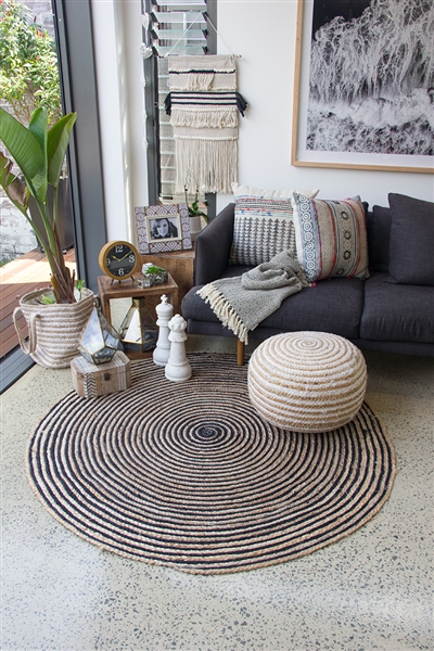 Fabulous Floor Rug Round Dark Alphanode Cool Chair Designs And Ideas Alphanodeonline
