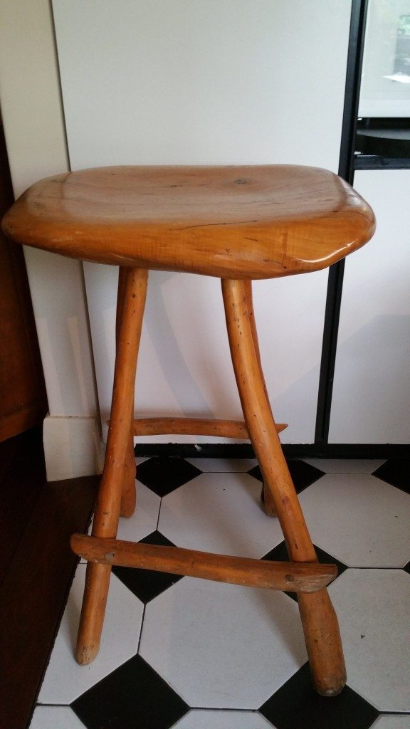 Robin Turner Wooden Stool Bimbo Online.