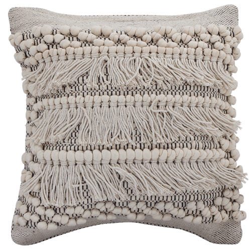 Boho Fringe Cushion
