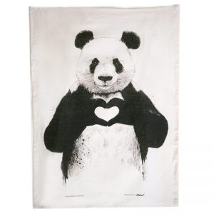 Panda Bear Tea Towel