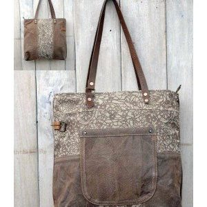 Recycled Handmade Bag - Marla
