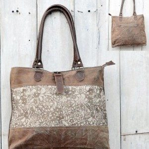 Recycled Handmade Bag - Roma