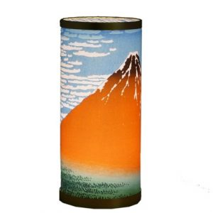 Art Lamp - Hokusai -Red Fuji