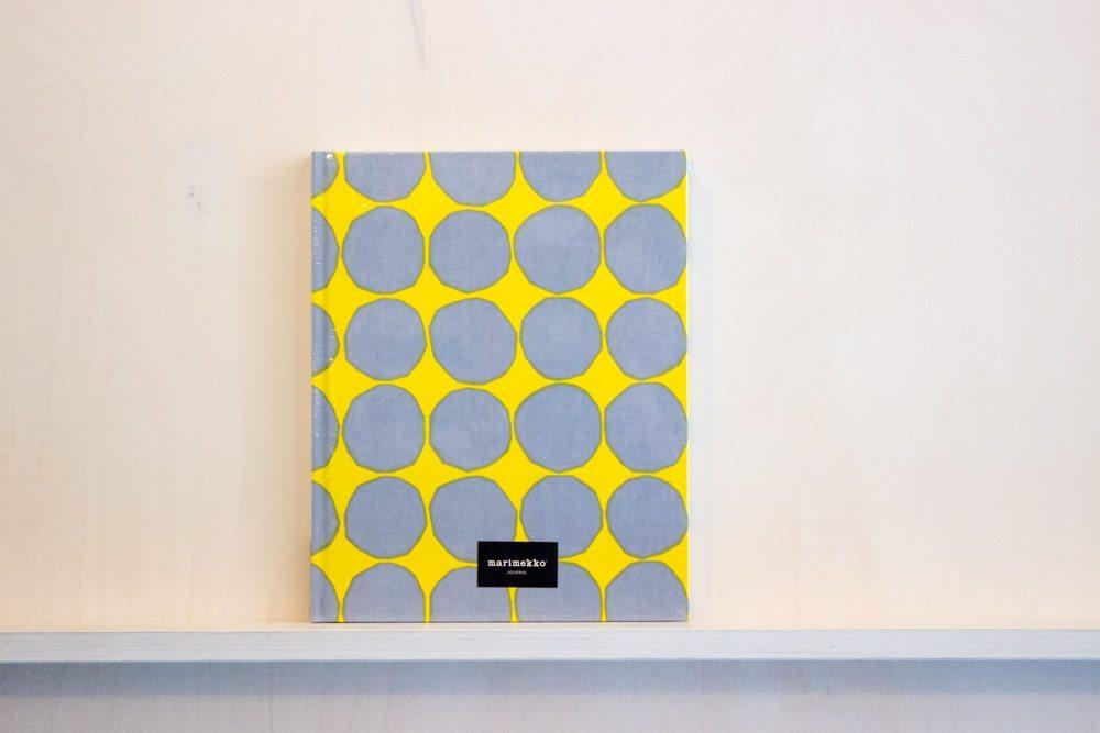 marimekko large journal available from bimbo online. Black Bedroom Furniture Sets. Home Design Ideas