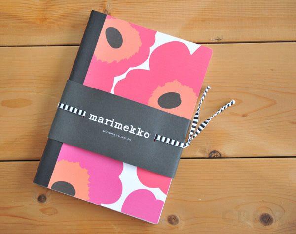 marimekko notebook set