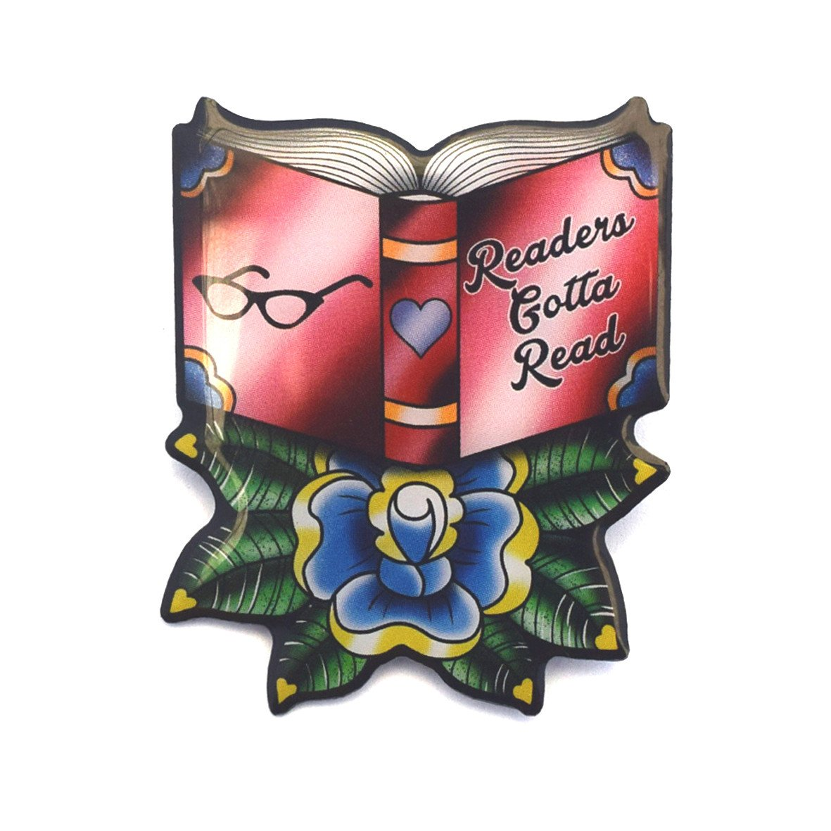 readers gotta read brooch