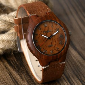 Mens Bamboo Wood watch - Adelaide