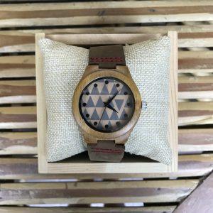 Bamboo wood watch