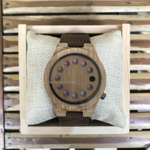 Unisex Bamboo Wood Watch - Adelaide