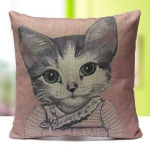 Cute Cat Cushion