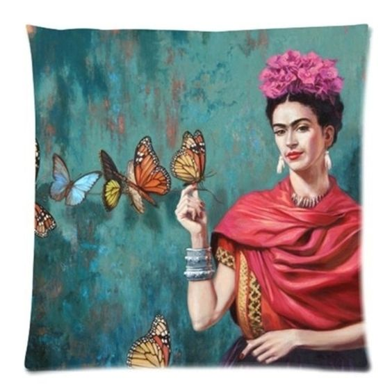 Frida Kahlo Cushion - Adelaide