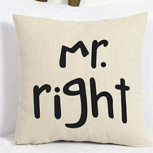 Mr Right Cushion