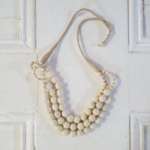 boho bead necklace