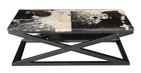 Cowhide Coffee Table