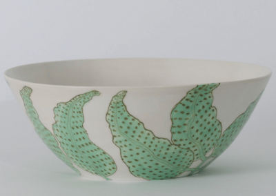 Jungle Leaves Bowl