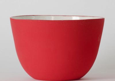 Matte Red bowl