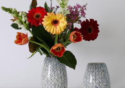 Crisscross Vase